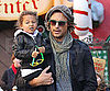 Slide Picture of Gabriel Aubry With Nahla in LA