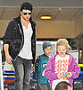 Pictures of Ryan Phillippe With Ava and Deacon at LAX