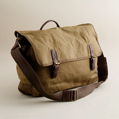 J.Crew Bowery Messenger Bag ($98)