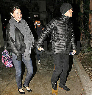 Pictures of Orlando Bloom and His Pregnant Wife Miranda Kerr at a Roger Waters Show in LA