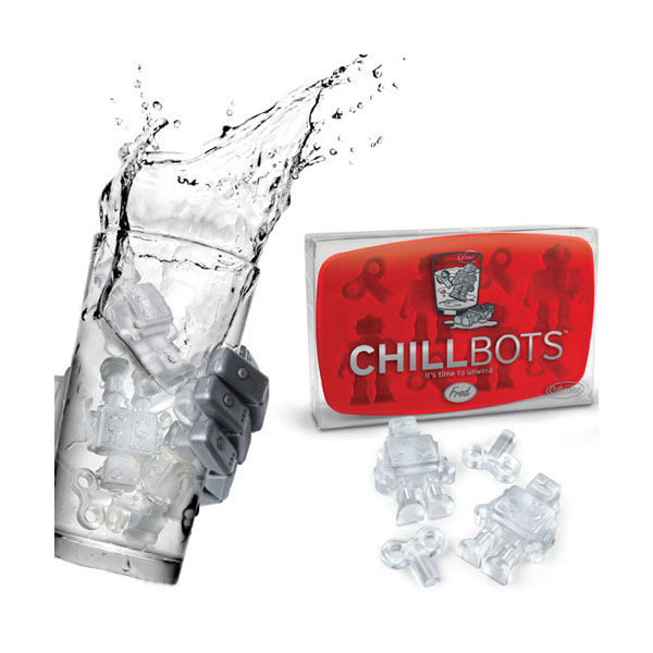 Chillbots Ice Cube Trays ($8)