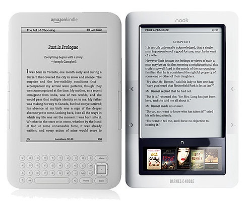 Differences Between Nook and Kindle
