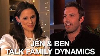 Video of Jennifer Garner With Martha Stewart and Ben Affleck on Ellen