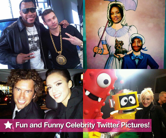 Gwen, Jessica and More in This Week's Fun Celeb Twit Pics!
