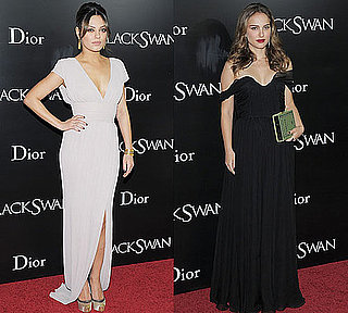 Pictures of Mila Kunis and Natalie Portman at Black Swan Premiere