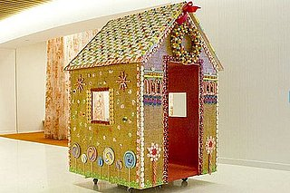 AOL's Life-Size Gingerbread House For St. Jude's and Other Home Decor Links