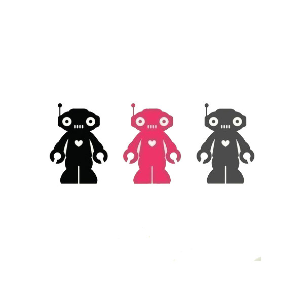 Robot Wall Decals ($14)