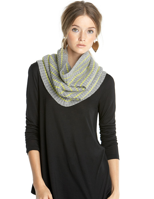 Striped Snood ($39)