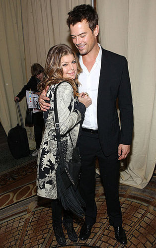 Pictures of Fergie, Josh Duhamel, and Lea Michele at the Billboard Women in Music Awards in NYC