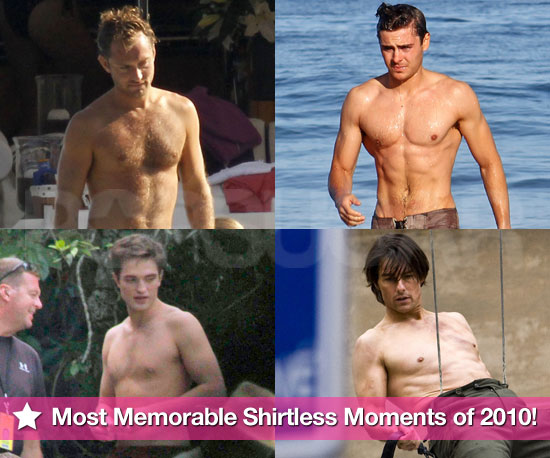 Best of 2010: The Most Memorable Shirtless Guys of the Year!