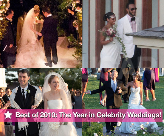 Pictures of 2010 Celebrity Weddings