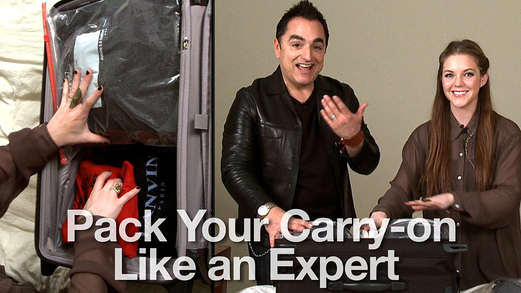 How to Pack Everything Into a Carry-On Suitcase