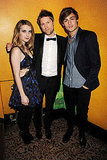 Emma Roberts in Julien Macdonald, Christopher Bailey, Douglas Booth