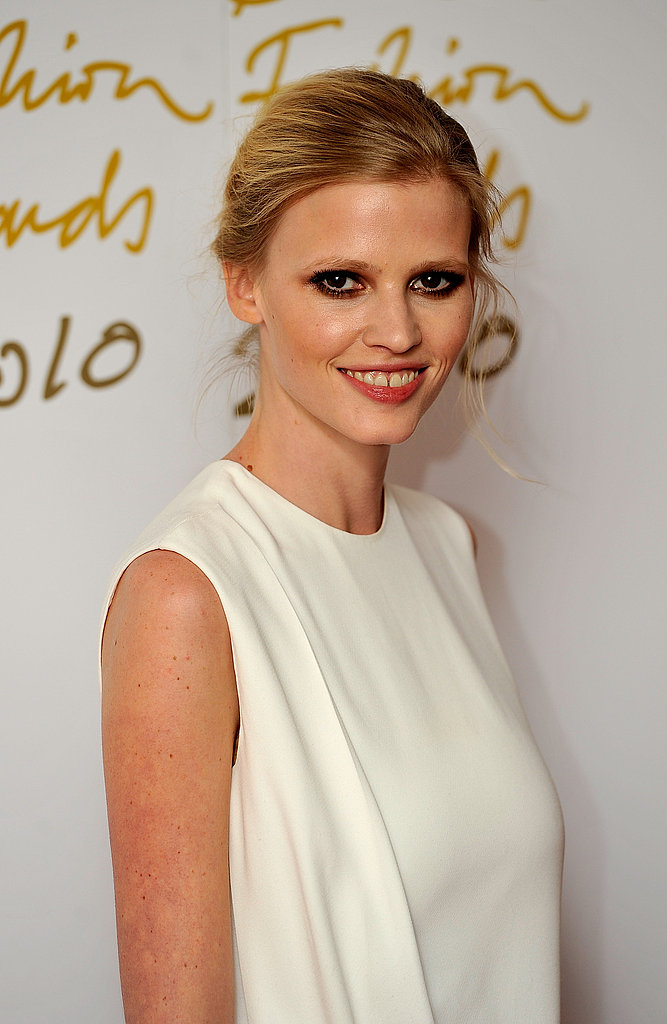 Lara Stone in Calvin Klein Collection