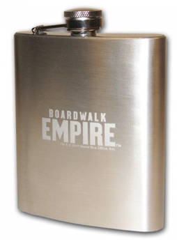 Boardwalk Empire Engraved Flask ($25)