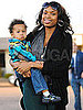 Pictures of Jennifer Hudson With Baby