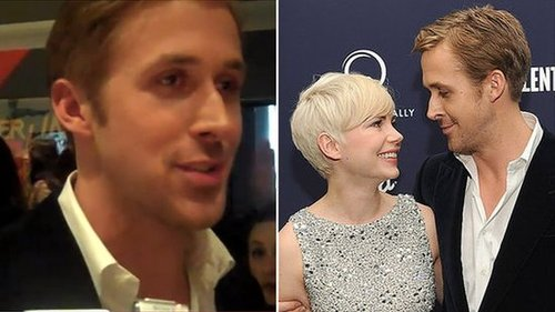 Video of Ryan Gosling Talking About Michelle Williams at the Blue Valentine Premiere in New York 2010-12-08 14:19:02