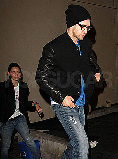 Pictures of Justin Timberlake and Jessica Biel Out to Dinner in LA