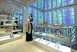 The windows, the glass cases, all the decadent Dior.