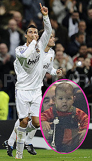 Pictures of Cristiano Ronaldo's Baby Son Cristiano Ronaldo Jr. in Madrid