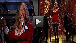 Video of Pregnant Mariah Carey on Her Holiday Special