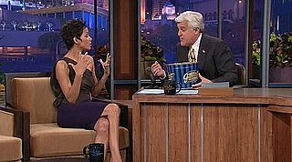 Video of Halle Berry Backstage at The Tonight Show With Jay Leno