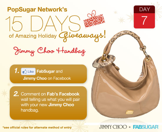 We're giving away this sweet Jimmy Choo. Enter now!