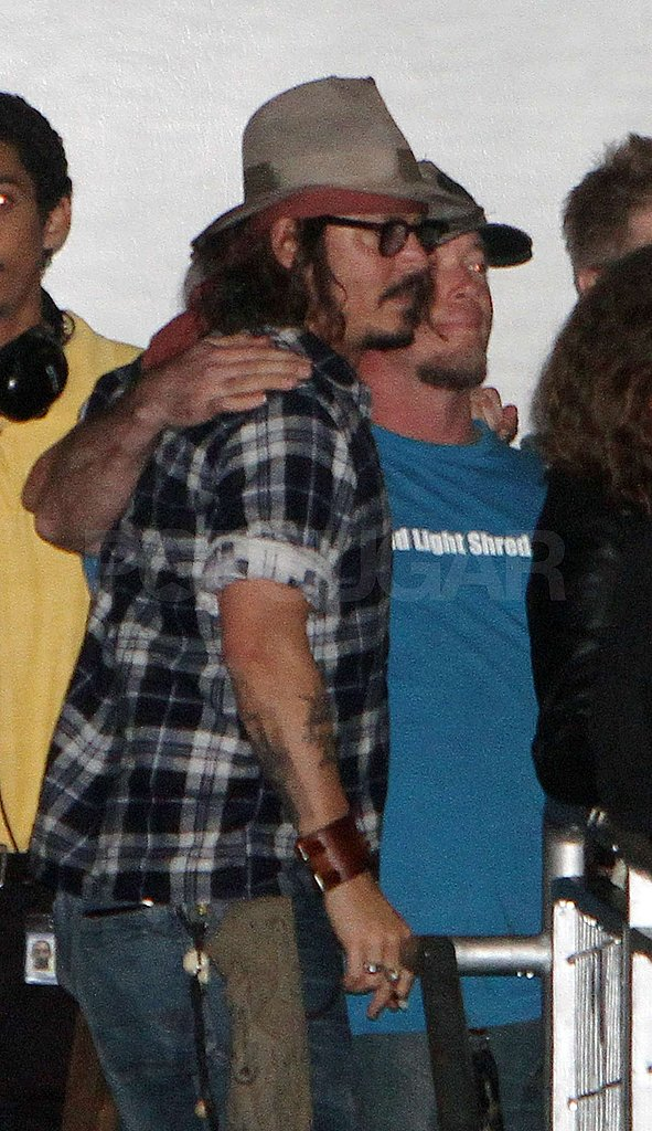 Johnny Depp Takes a Break From Touring to Hang With Justin Bieber