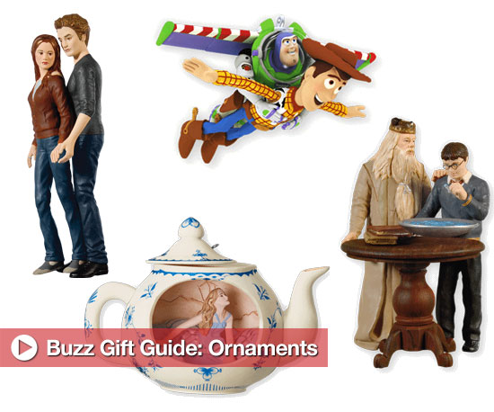 Entertainment-Related Ornaments