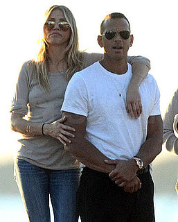 Pictures of Cameron Diaz and Alex Rodriguez in Miami 2010-12-13 09:15:00