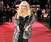 Slide Picture of Christina Aguilera at Burlesque Premiere in London