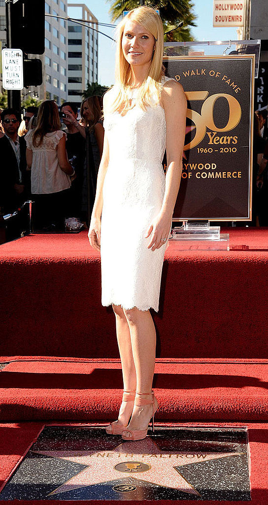 Pictures of Gwyneth Paltrow Getting Her Star on the Hollywood Walk of Fame
