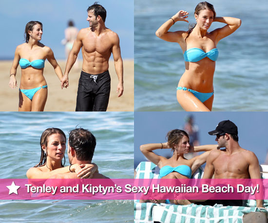 Pictures of Tenley Molzahn in Bikini and Kiptyn Locke Shirtless in Hawaii