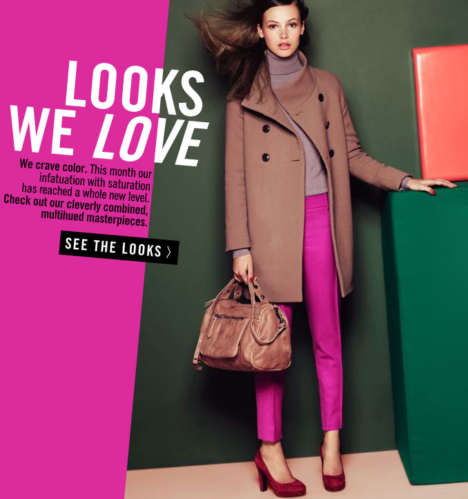 Pictures of J.Crew Winter 2010 Looks