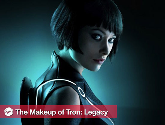 A Behind-the-Scenes Look at the Sci-Fi Makeup of Tron: Legacy