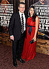 Pictures of Matt Damon, Luciana Damon, Jeff Bridges at NYC True Grit Premiere