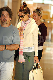 Pictures of Katie Holmes Shopping in LA