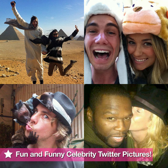 Fun and Funny Celebrity Twitter Pictures 2010-12-16 05:00:00