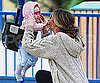 Slide Picture of Rebecca Gayheart and Billie at LA Park