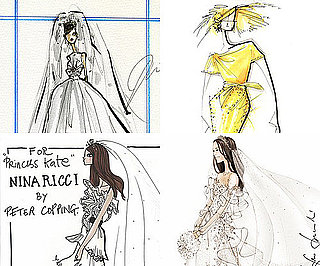 Wedding Dress Ideas by Designers for Kate Middleton