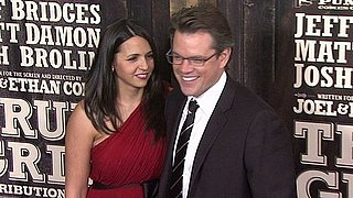 Video of Matt Damon and Luciana at the True Grit Premiere in New York 2010-12-15 12:18:56