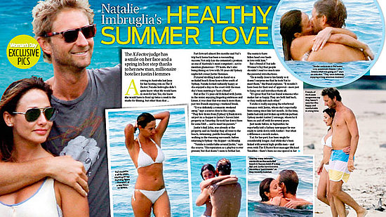December 2010: Woman's Day Story of Natalie with Justin Hemmes