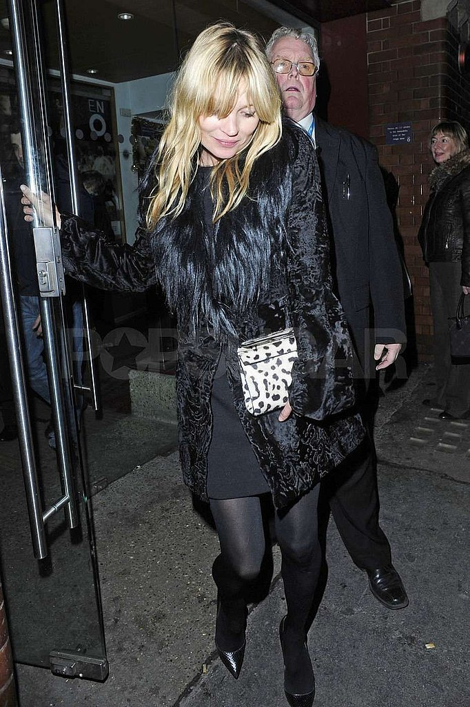 Kate Moss Gets Into the Holiday Spirit at The Nutcracker