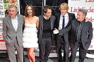 Jessica Alba, Owen Wilson, Ben Stiller, Robert De Niro, and Dustin Hoffman at the Premiere of Little Fockers in New York City