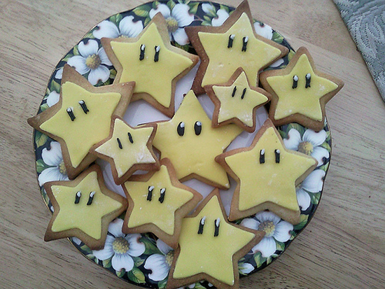 Nintendo Star Cookies