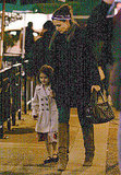 Katie Holmes and Suri Get in the Christmas Spirit in Canada