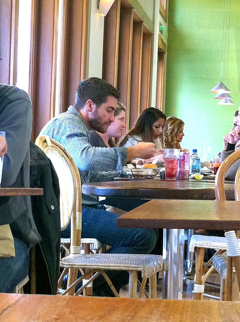 Jake Gyllenhaal Goes Solo For a Sandwich as He Preps For the Big 3-0