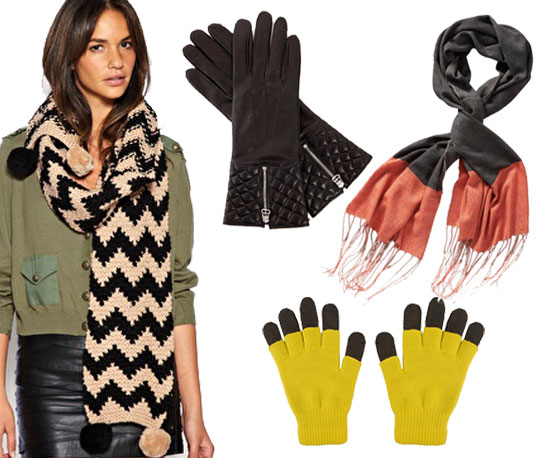 Fab Gift Guide: One Size Fits All — 20 Cozy-Cool Scarves and Gloves
