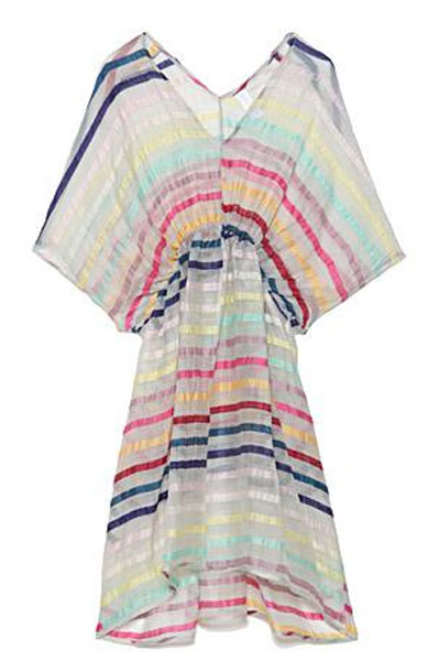 Whisper Rainbow Stripe Dress