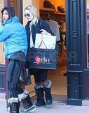 Matthew Bellamy Makes It to Aspen For Christmas With Kate Hudson and Her Family